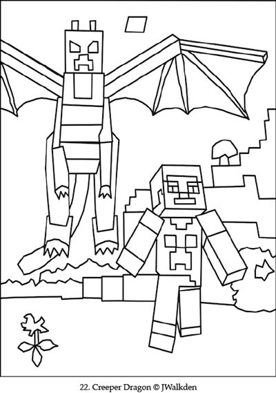- Minecraft Coloring EBook Printable Minecraft Coloring Pages For Children